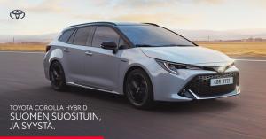 Toyota Corollan hybridimoottori pitää kulutuksen matalana ja ajonautinnon korkealla.  ✨Tarjoamme nyt Corolla-mallistoon Hybridip...