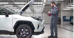 Toyota-huoltovaraus on nopea tapa varata autohuolto. - Autokiila