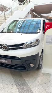 Nyt nopeaan toimitukseen Toyota Proace L2 2.0 D 120 Automatic Edition!  Kysy lisää Vesa Karlström 020 7757144 tai Juha Sjöholm 0...
