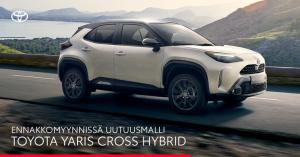 Uutuusmalli Toyota Yaris Cross Hybrid – ketterä ja kompakti crossover on nyt ennakkomyynnissä. Tutustu ja ennakkovaraa.  https:/...