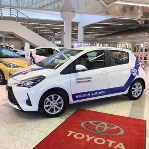 Osahankinnan uudet Toyota Yaris -sijaisautot 👌