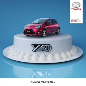 Uskomatonta, että Yaris täyttää jo 20 vuotta! Syntymäpäivän kunniaksi näyttävä Yaris Y20 Edition juhlavin varustein, Multidrive S -automaattivaihteisto veloituksetta ja talvirenkaat 0 €. Kokonaisetusi jopa 2 700 €. Tervetuloa! Lue lisää: https://www.autokiila.fi/yritys/tarjoukset-ja-kampanjat/yaris-y20-edition.html