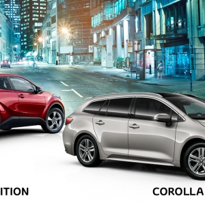 Hyvin varustellut C-HR ja Corolla Turbo Edition -mallit ovat sekä ulkonäöltään että kyvykkyydeltään valioyksilöitä. Tarjoamme nyt rajoitetun erän Turbo Edition -malleja entistäkin edullisempaan kampanjahintaan sekä Winter Packin hintaan 490 €. Corolla Turbo Edition -mallissa kokonaisetusi jopa 3 000 €. Tervetuloa tutustumaan! Lue lisää: https://www.autokiila.fi/yritys/tarjoukset-ja-kampanjat/corolla-turbo-edition.html